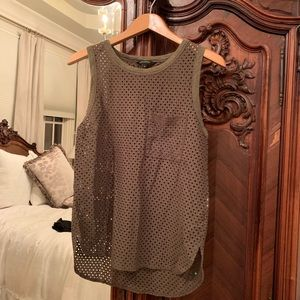 Banana Republic Army Green Tank M
